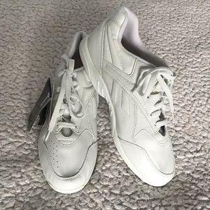 REEBOK COMFORT glide white walking shoe 8.5 wide